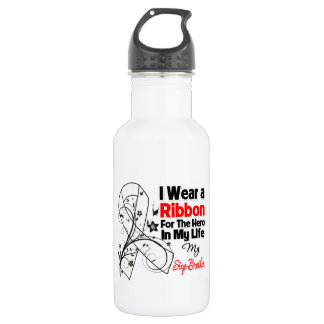 Step-Brother Hero in My Life Lung Cancer 532 Ml Water Bottle