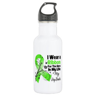 Step-Brother Hero in My Life Lymphoma Ribbon 532 Ml Water Bottle