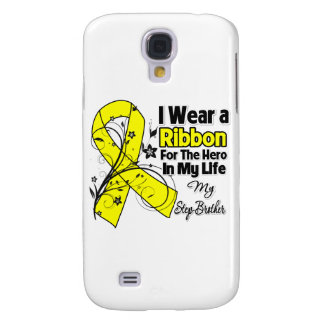 Step-Brother Hero in My Life Sarcoma Awareness Galaxy S4 Case