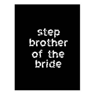 Step Brother of the Bride Postcard