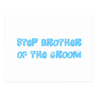 Step Brother of the Groom Postcard