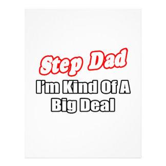 Step Dad Big Deal Custom Flyer