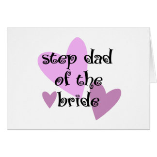 Step Dad of the Bride Card