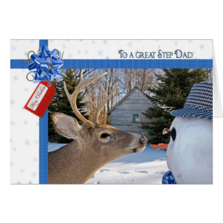 Step Dad s Christmas Greeting Cards