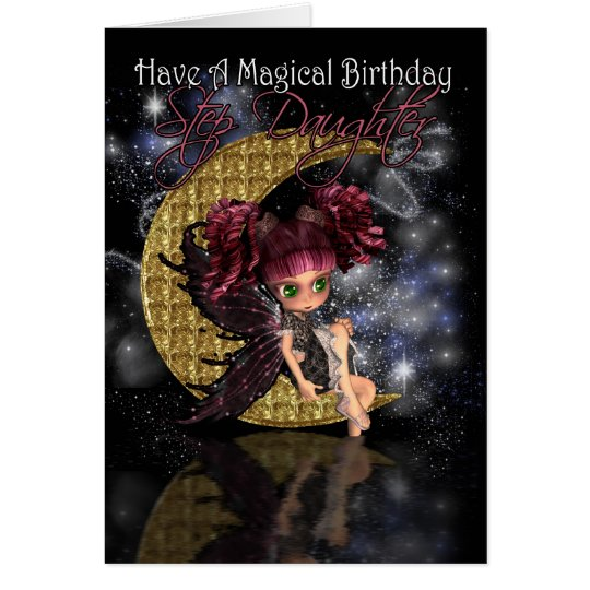 Step Daughter Magical Birthday cute little moon fa