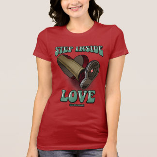 Step Inside Love - Womens Fitted Tshirt