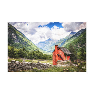Step Into The Fresh Air Of Nature Canvas Print