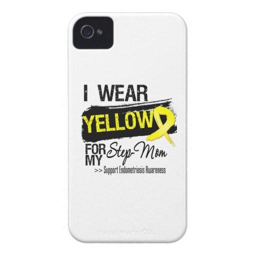 Step-Mom Yellow Ribbon Endometriosis iPhone 4 Case