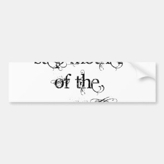 Step Mother of the Groom Car Bumper Sticker