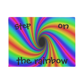 """Step on the Rainbow"" Creative Rainbow Design Mat"