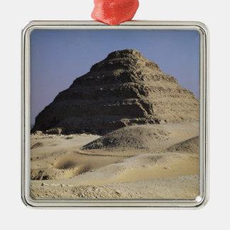 Step pyramid of King Djoser  Old Kingdom Christmas Ornament
