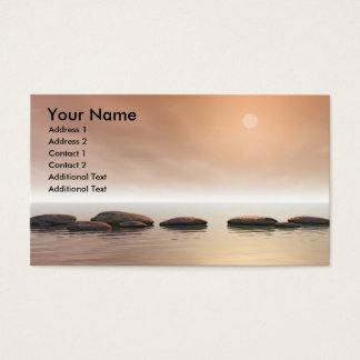 Step Stones Business Card
