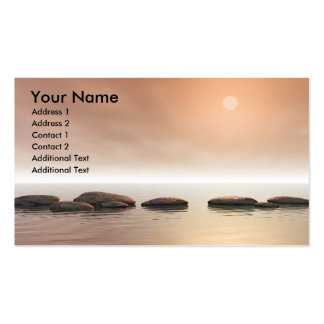 Step Stones Pack Of Standard Business Cards