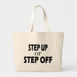 Step Up Jumbo Tote Bag