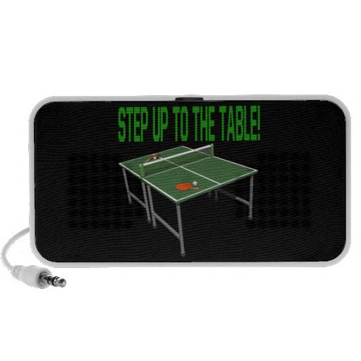 Step Up To The Table Laptop Speaker