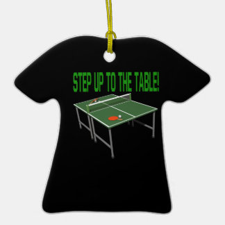 Step Up To The Table Ornament