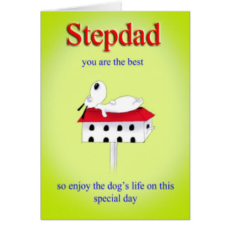 stepdad Father s day card