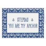 Stepdad-You Are My Anchor-Happy Father's Day Greeting Card