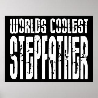 Stepfathers Birthdays Worlds Coolest Stepfather Print