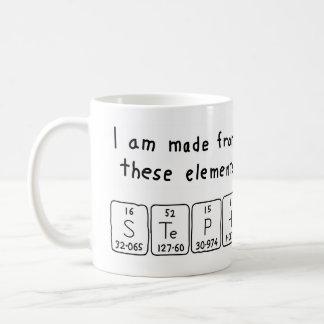 Steph periodic table name mug