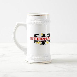 Stephan Surname Beer Stein
