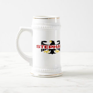 Stephan Surname 18 Oz Beer Stein