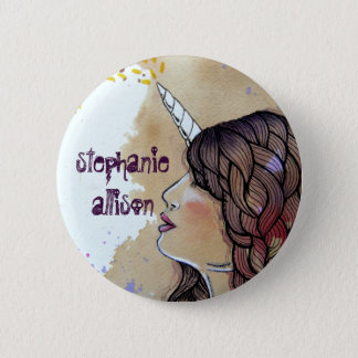 Stephanie Allison 6 Cm Round Badge