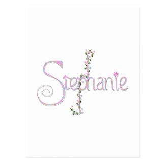 stephanie postcards