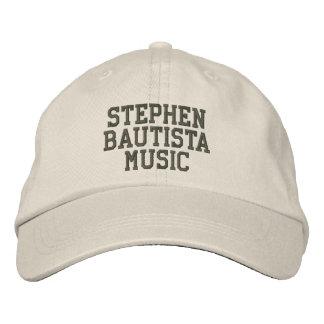 Stephen Bautista Music Hat Embroidered Hats