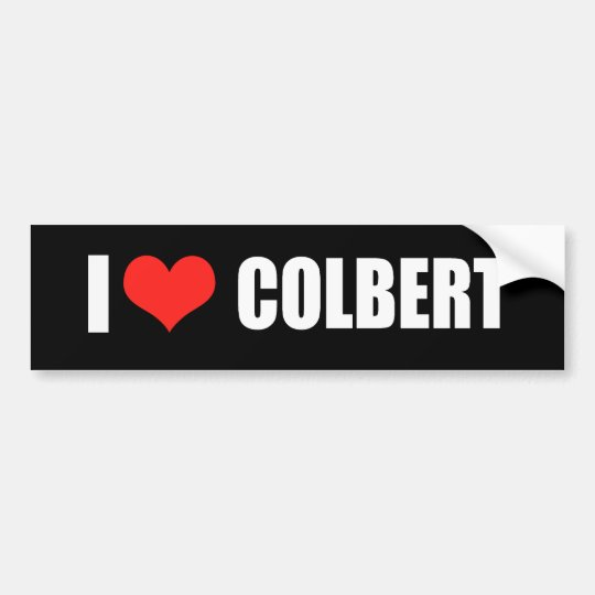 STEPHEN COLBERT Election Gear Bumper Sticker