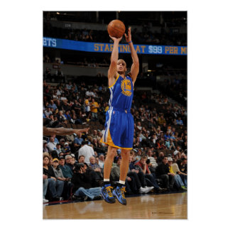 Stephen Curry - Takes on the Nuggets Poster