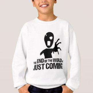 stephen end of the world zombie sweatshirt
