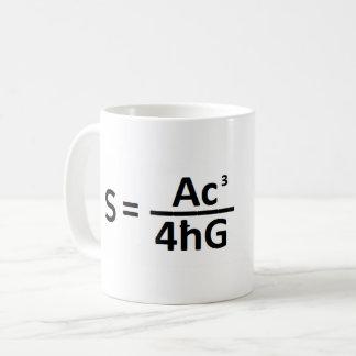 Stephen Hawkin  - Black Hole Entropy Formula - Mug