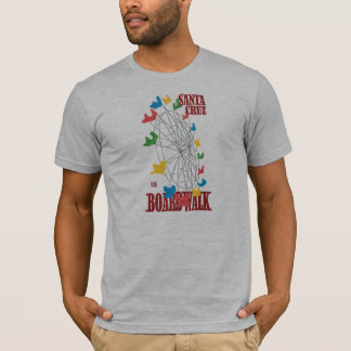 Stephen Hosmer's Santa Cruz Boardwalk Ferris Wheel T-Shirt