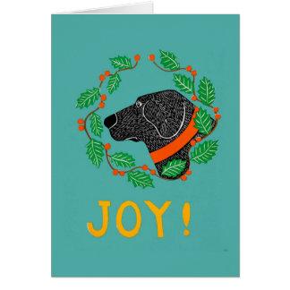 "Stephen Huneck ""Joy"" Greeting Card"