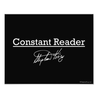 Stephen King, Constant Reader Art Photo