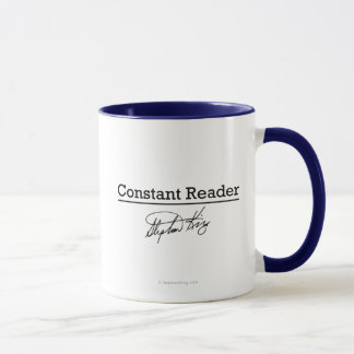 Stephen King, Constant Reader Mug