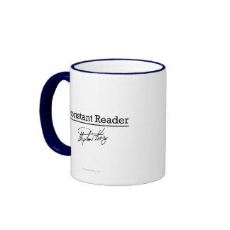 Stephen King, Constant Reader Ringer Mug