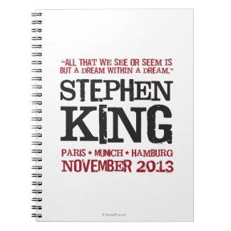 Stephen King's Euro Tour Notebooks