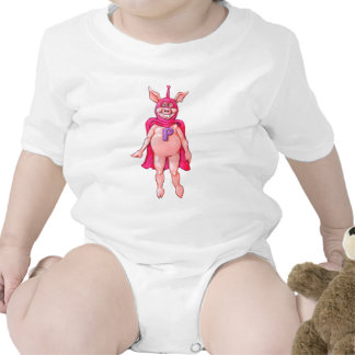 Stephen the Pig Baby Bodysuits