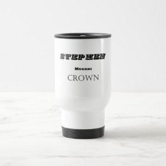 Stephen Travel Mug