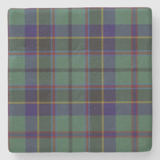 Stephenson Clan Tartan Plaid Stone Coaster