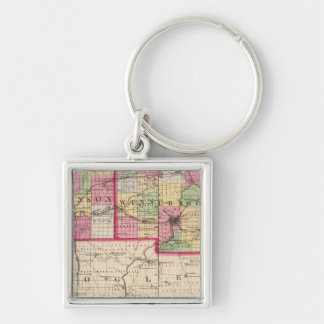 Stephenson, Winnebago, Boone counties Key Ring