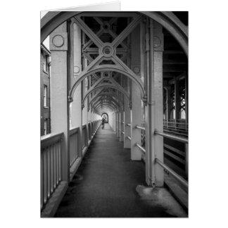 Stephensons High Level Bridge, Newcastle Upon Tyne Greeting Card