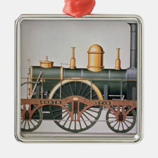 Stephenson's 'North Star' Steam Engine, 1837 Christmas Ornament