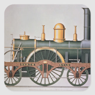 Stephenson's 'North Star' Steam Engine, 1837 Square Sticker