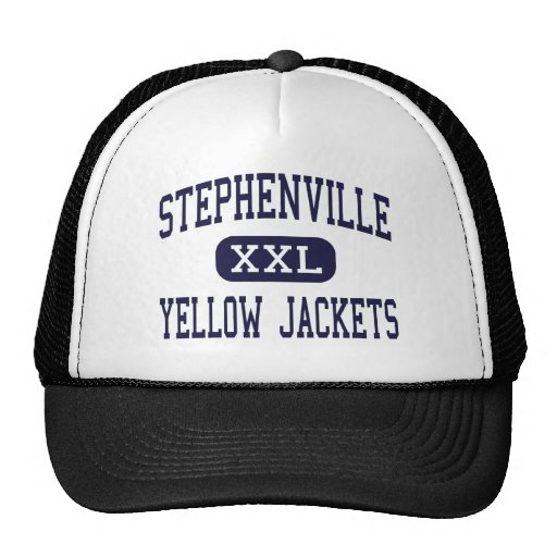Stephenville - Yellow Jackets - Stephenville Mesh Hats