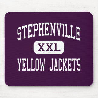 Stephenville - Yellow Jackets - Stephenville Mouse Pads