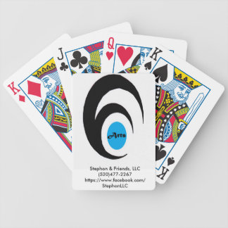 Stephon & Friends Old Logo Bicycle Playing Cards
