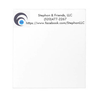 Stephon & Friends Old Logo Notepad